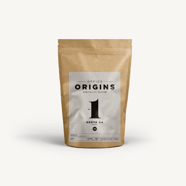 Origins Kenya AA Filter Cafetiere Coffee 250g