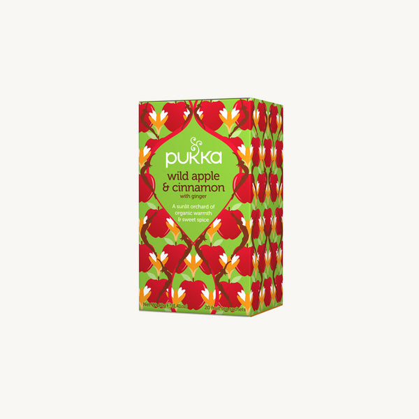 Pukka Wild Apple & Cinnamon 20 Envelopes