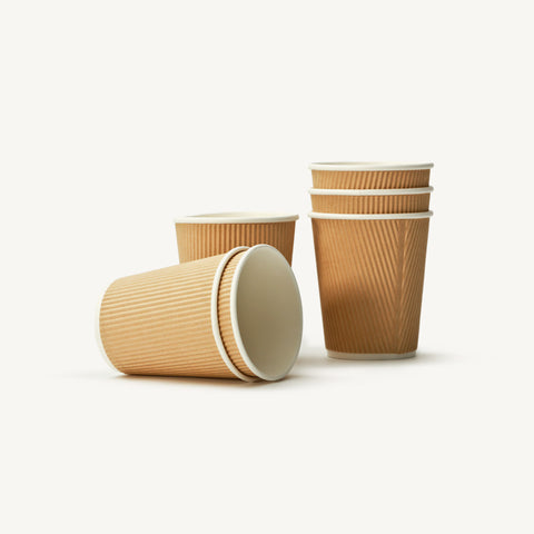 Ripple Wall Paper Cups 8oz