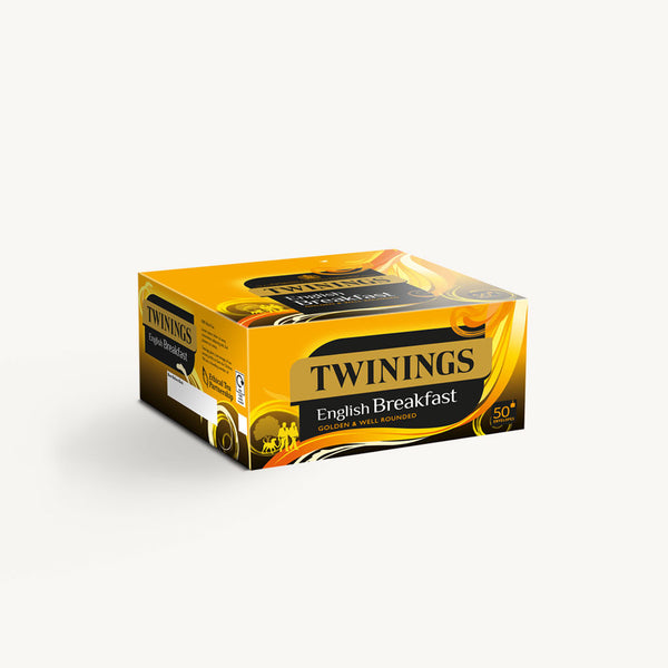 Twinings English Breakfast Envelopes 50's