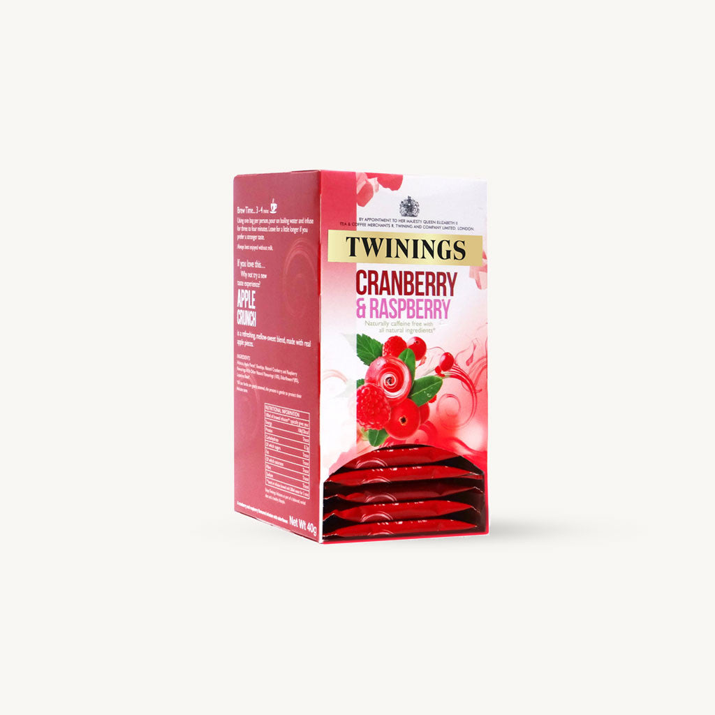Twinings Cranberry & Raspberry Envelopes 20's