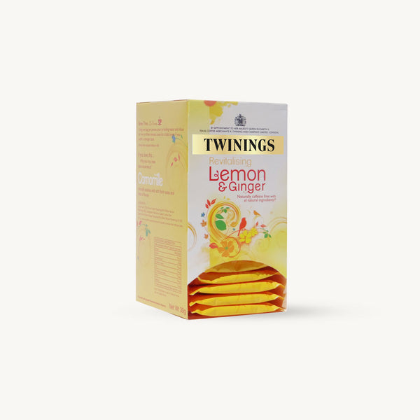Twinings Lemon & Ginger Envelopes 20's