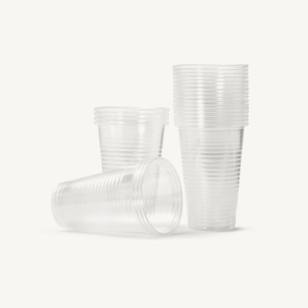 7oz Clear Water Cups