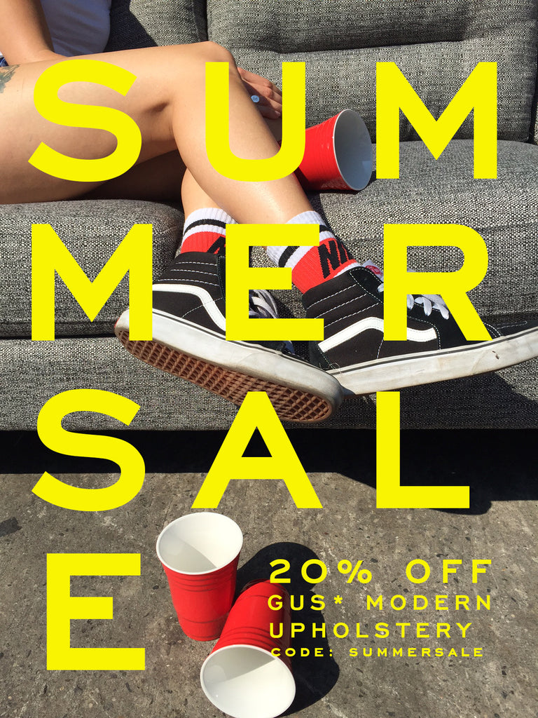 GUS MODERN SUMMER SALE