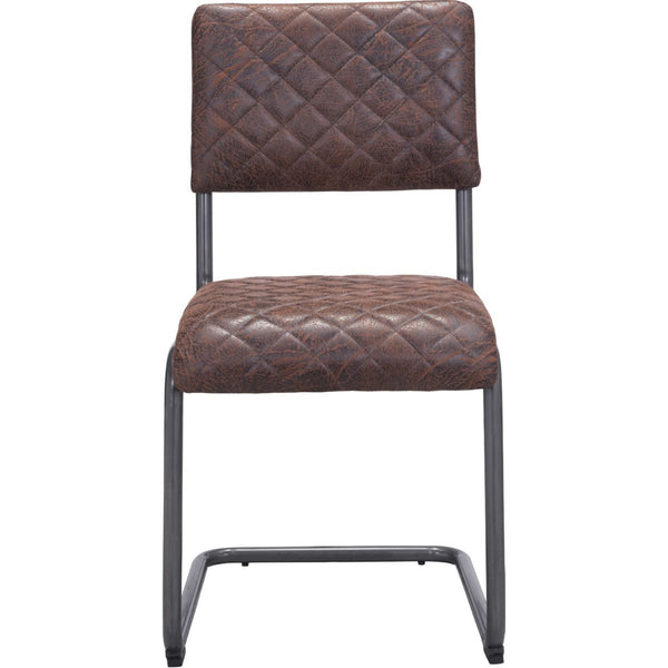 QUILTED DINING CHAIR - SET OF TWO