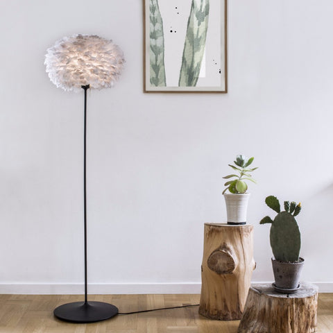 FEATHER LAMP FLOOR STAND