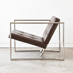 LEATHER DELANO CHAIR