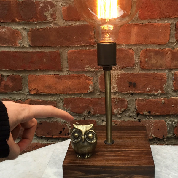 BALLOON OWL TOUCH LAMP