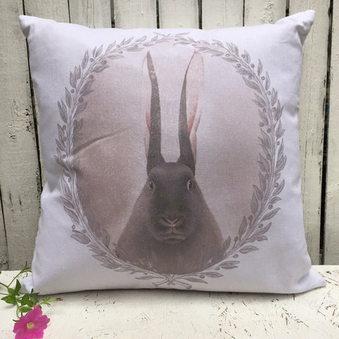BIG EARED BUNNY PILLOW