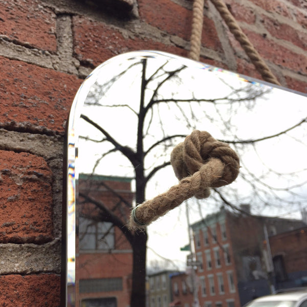 KNOTTED ROPE MIRROR