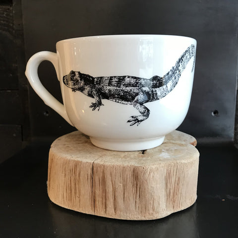ALLIGATOR LATTE CUP