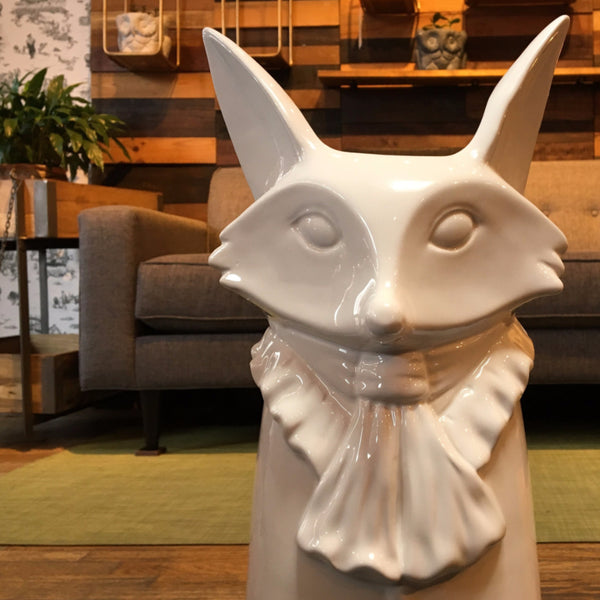 WHITE FOX UMBRELLA STAND