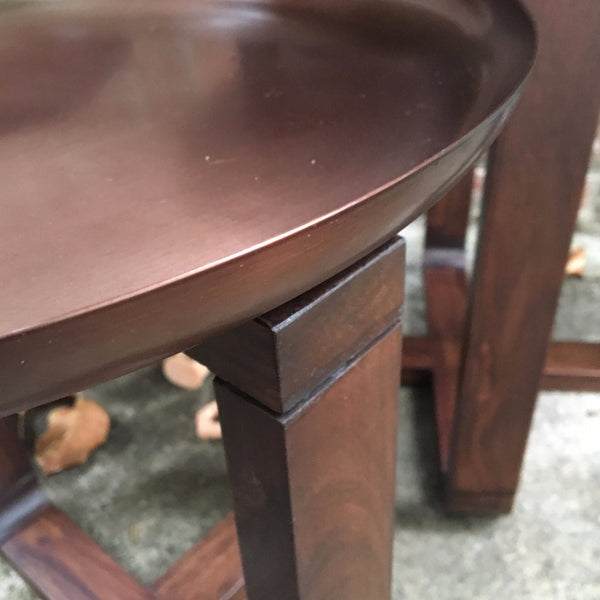 COPPER NESTING TABLES