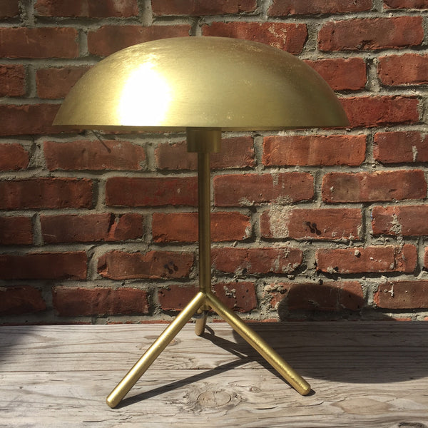 GOLD HELMET LAMP