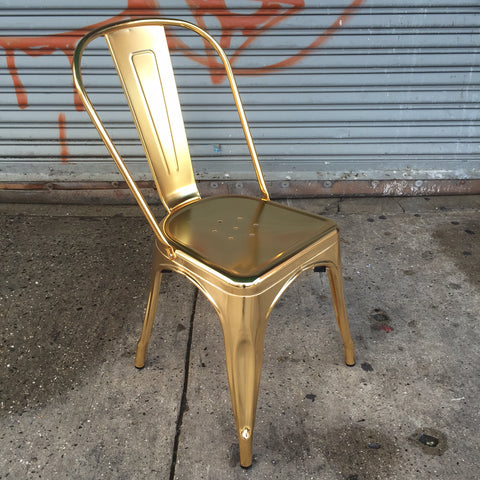 EMERSON DINING CHAIR SET   GOLD