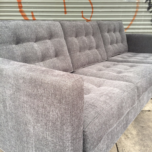 MYRTLE SOFA with WOOD BASE