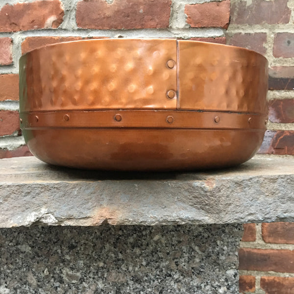 COPPER BOWL  LARGE