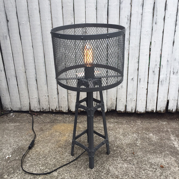 IRON TOWER TABLE LAMP