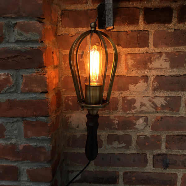LEATHER HANGING LAMP