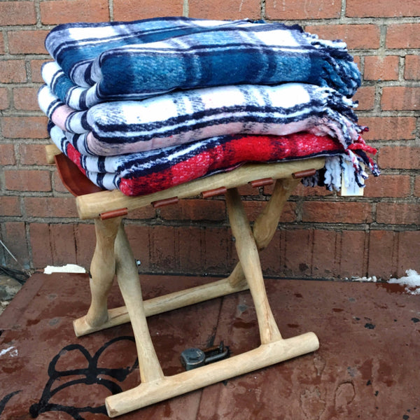 SUPER WARM PLAID BLANKET