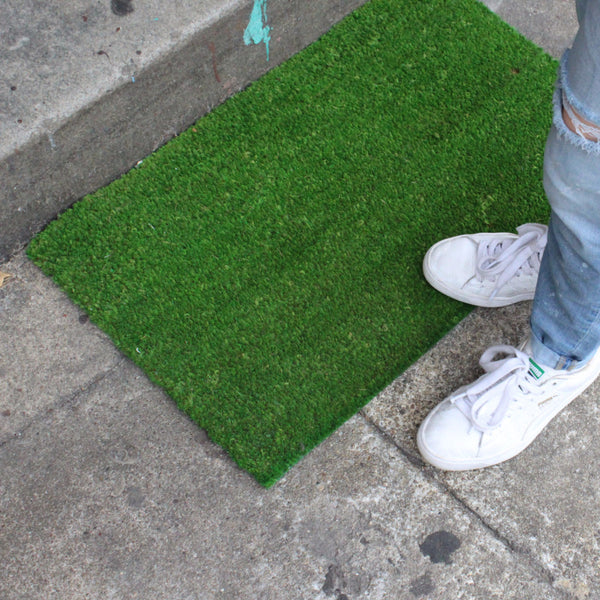 SIMPLY GREEN DOORMAT