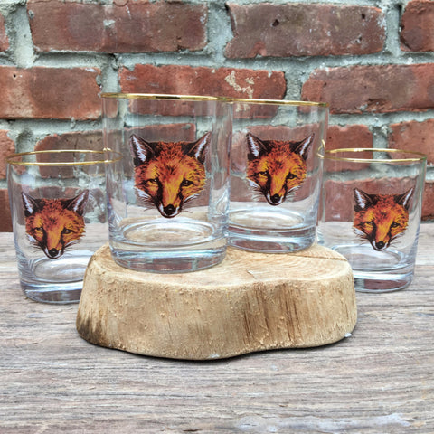 DOUBLE OLD FASHIONED FOX SET