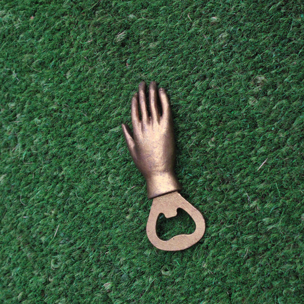 GOLD HAND BOTTLE OPENER