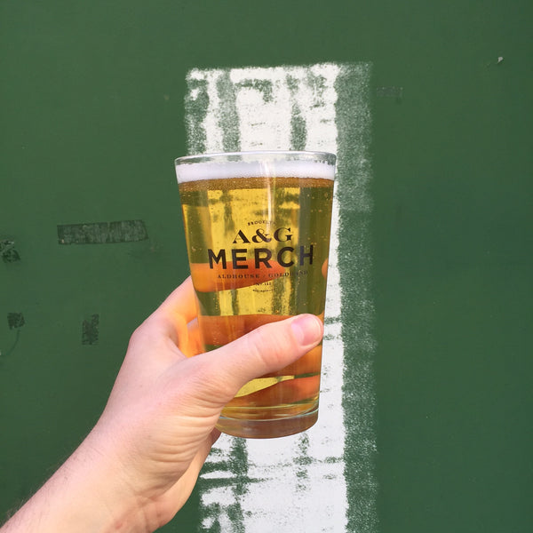 MERCH PINT GLASS