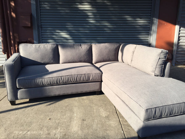 DEVOE V1 LOVESEAT SECTIONAL w/DOWN