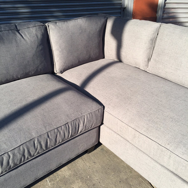 DEVOE V1 LOVESEAT SECTIONAL down filled
