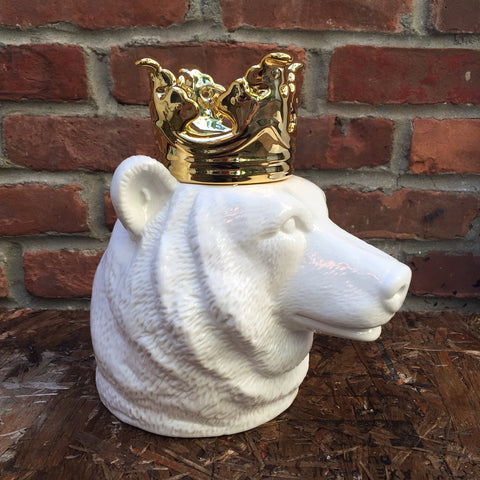 CROWNED BEAR HEAD CONTAINER