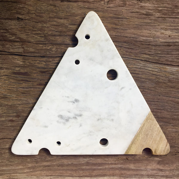 CHEESE SLICE CUTTING BOARD