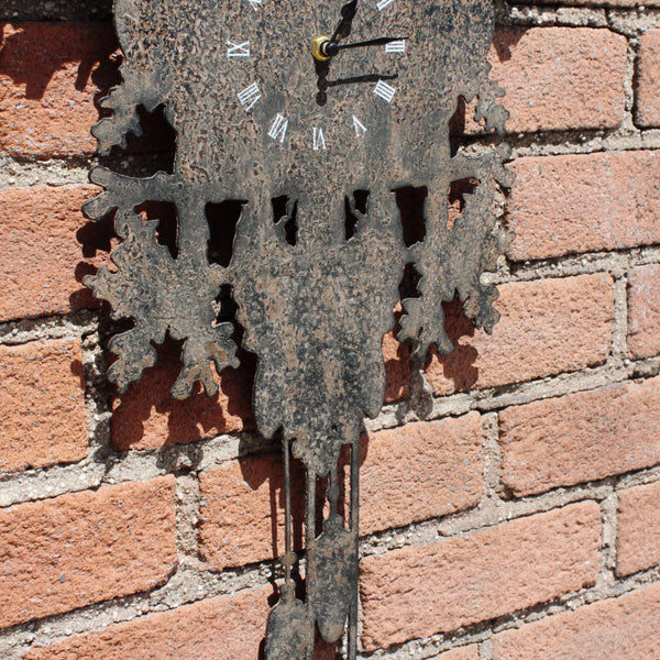 STAG METAL WALL CLOCK