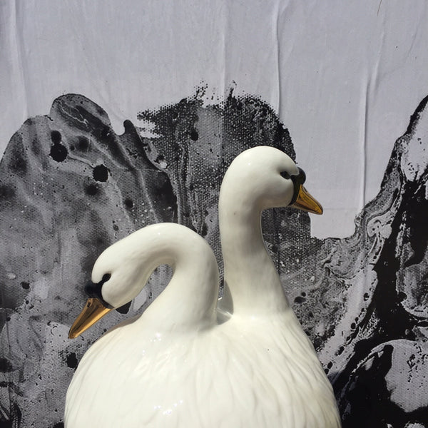 TWO-HEADED SWAN CONTAINER