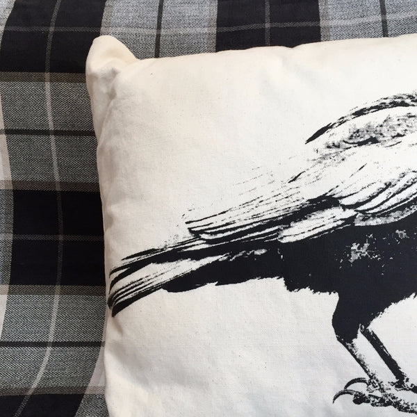 FULL CROW PILLOW