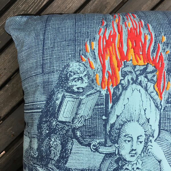 LADY ON FIRE PILLOW