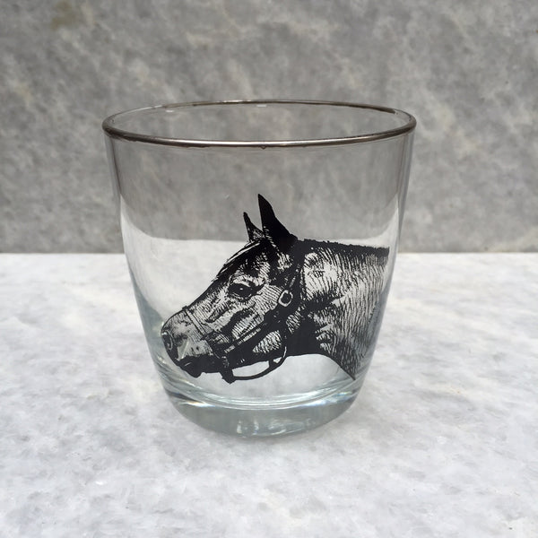 HORSE TAPERED GLASS SET