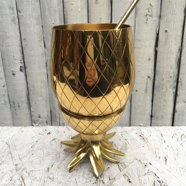 PINEAPPLE TUMBLER     LARGE