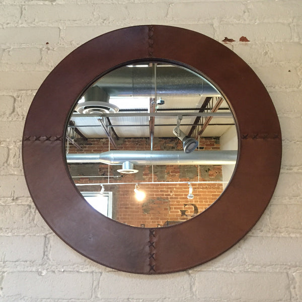 LEATHER KITE MIRROR