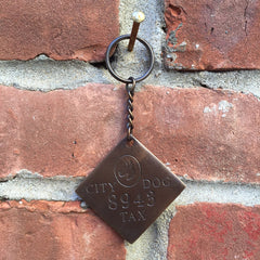CITY DOG KEY CHAIN