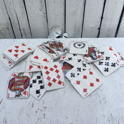 discontinued / CERAMIC PLAYING CARD