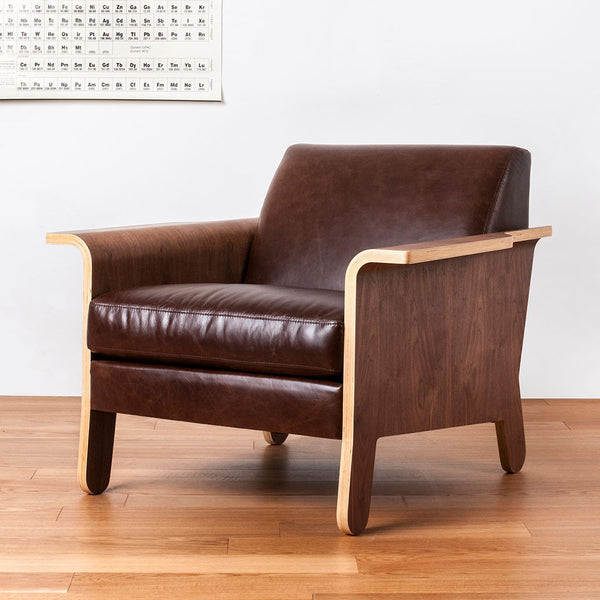 LEATHER LODGE CHAIR