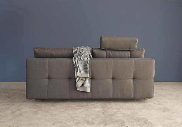 DUAL ARMLESS SLEEPER SOFA