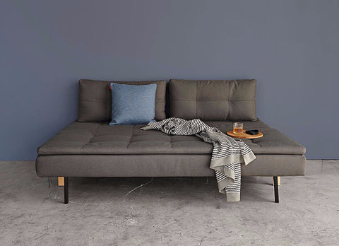 ARMLESS DUAL SLEEPER SOFA