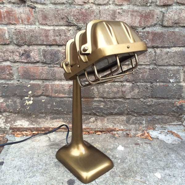 GOLD ENGINEER LAMP