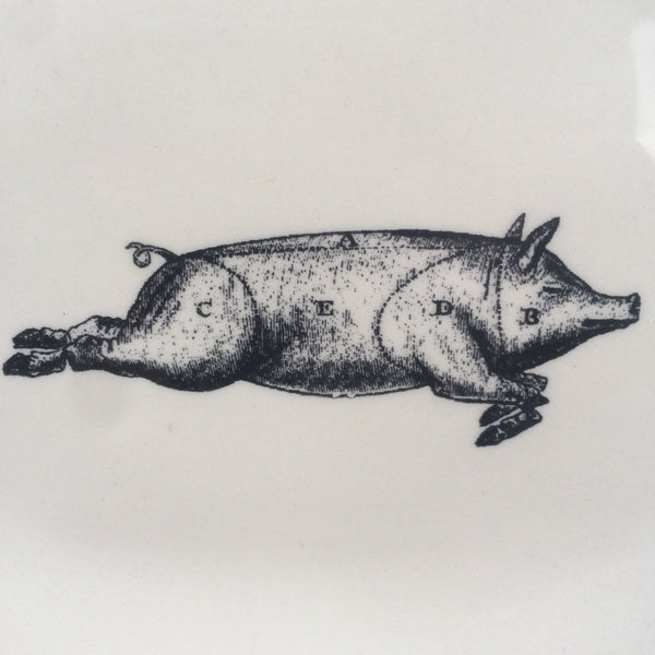 FLYING PIG PLATE