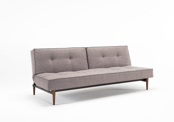 ARMLESS SPLITBACK SOFA WITH WOOD LEGS