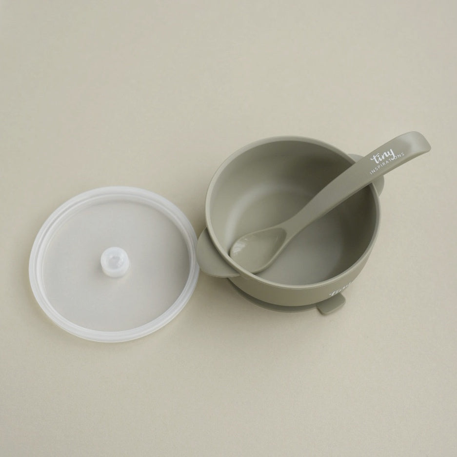 Silicone Bowl + Spoon - Willow
