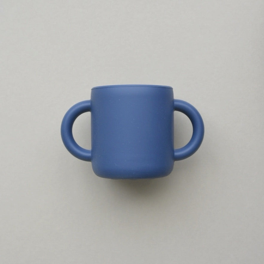 Silicone Cup with Handles - Dusk