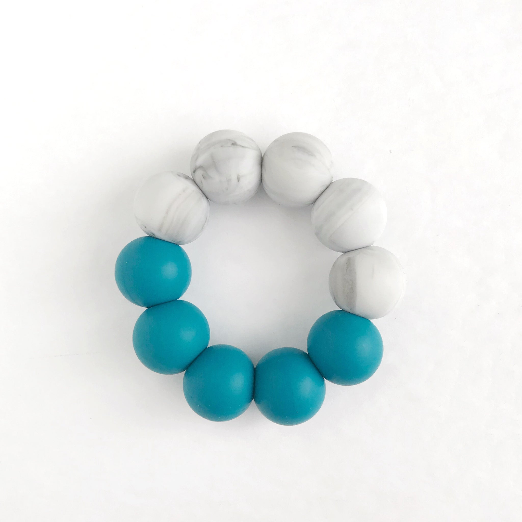 Limited Edition: Single Ring Teether - DUO Silicone